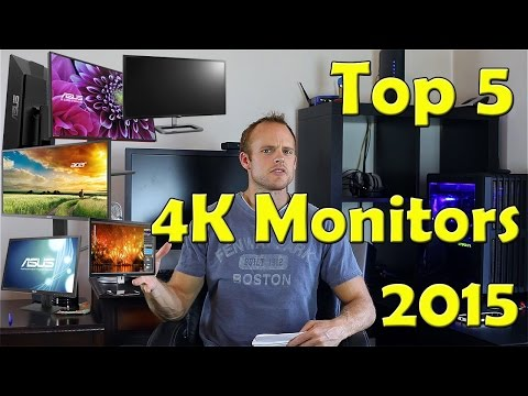 best monitors 2015 ultrawide & 4k (productivity & gam
