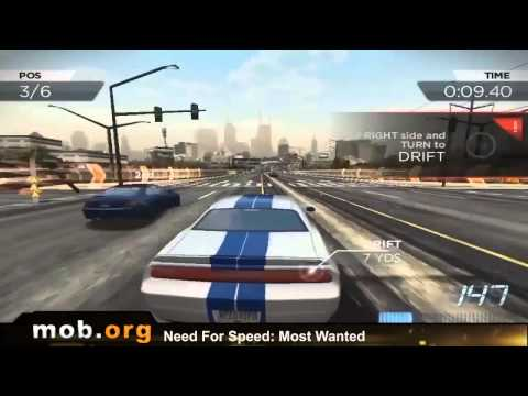 Need for Speed Most Wanted Android Review - mob.org