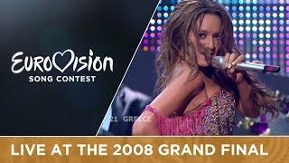 Kalomira - My Secret Combination (Greece) Live 2008 Eurovision Song Contest