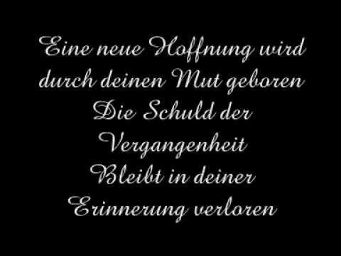 Blutengel - Uber Den Horizont - Lyrics video