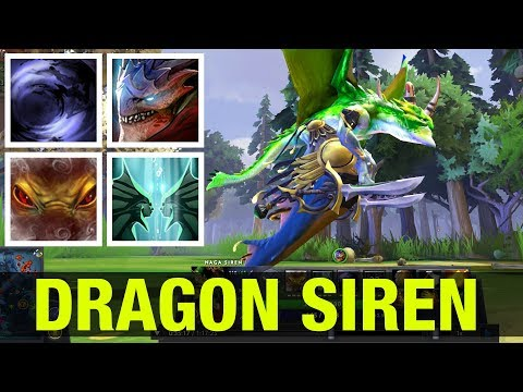 THE DRAGON SIREN !! - ABILITY DRAFT - Dota 2