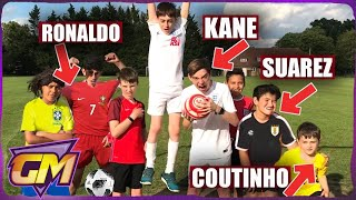 World Cup 2018 - Best Goals So Far!! ⚽Recreated By Kids!