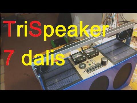 Project TriSpeaker (7 dalis: Kova)