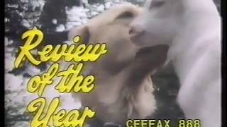 Blue Peter review of the year 1987 opening +clip