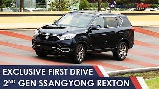 New SsangYong Rexton Review: Mahindra's Next Big SUV For India - NDTV CarAndBike