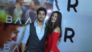 Sidharth Malhotra And Katrina's Passionate Kiss | Baar Baar Dekho TRAILER LAUNCH