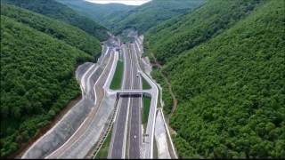 O-5 Gebze-Bursa otoyolu ve Osmangazi Köprüsü havadan / Gebze-Bursa highway