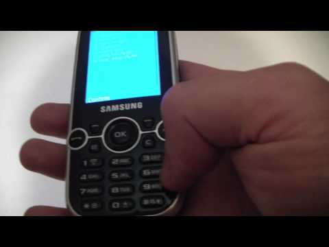 Samsung Gravity 2 Cell Phone Diagnostic / Test Mode Tutorial