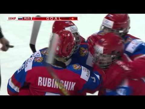 Россия - Латвия. Чемпионат мира U18