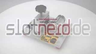 [Slotcar Reifenschleifmaschine - Tire Razor] Video