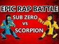 Sub-Zero vs Scorpion - EPIC RAP BATTLE
