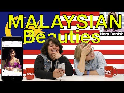 Americans React to Malaysian Beauties