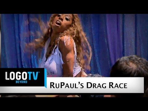 Rupaul's Drag Race Season 4 - Wet T-shirt Contest - Logo Tv video