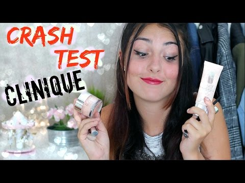 Crash test : Clinique ⚡︎