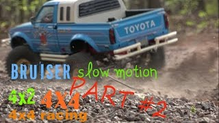 Tamiya Bruiser Slow motion part ll