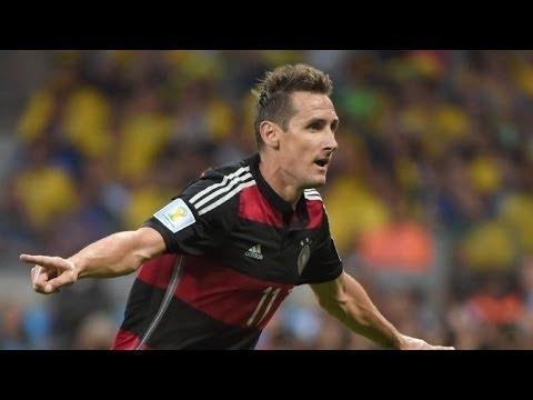 Klose, máximo goleador en Mundiales