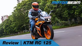KTM RC 125 Review - The Youngest Supersport! | MotorBeam