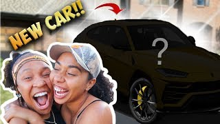 Bought My Bestfriend a Brand NEW $200,000 CAR prank!!  *She cries*