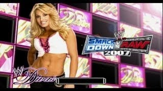 WWE Smackdown Vs Raw - Trish Stratus Love / Bedroom Scene