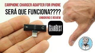 Unboxing e Review de Earphone Charge Adaptador for iPhone (PT)