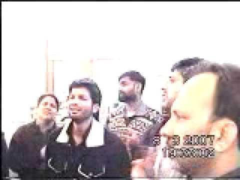 Nohakhawani By Komail Abbas infront of Roza -e- Jinab-e-Zainab...