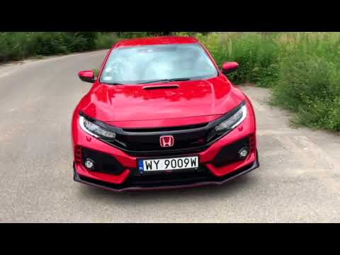 Honda Civic Type R - Oda Do Surowości