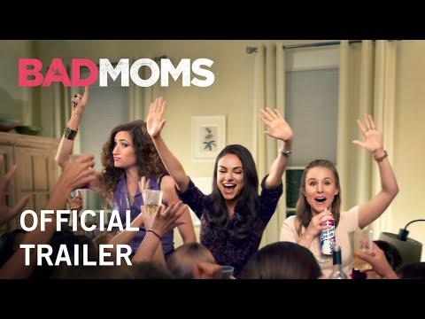 """Mila Kunis e Kristen Bell tornam-se péssimas mães no trailer de """"Bad Moms"""""""