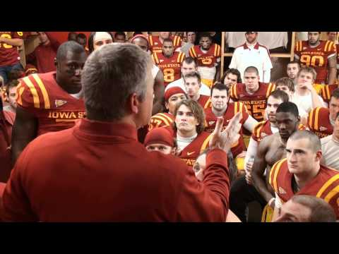 Paul Rhoads Post-Game Locker Room Celebration vs. Oklahoma State