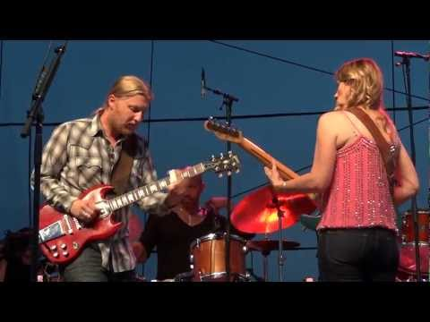 Tedeschi Trucks Band - Because of You - Chesapeake Bay Blues Festival 2012