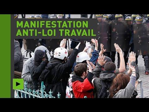 Nouvelle journée de mobilisation en France contre la Loi Travail 1/4 (Direct du 19.05.16)