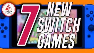 7 FUN NEW Switch Games JUST ANNOUNCED!! (2019 Nintendo Switch Games)