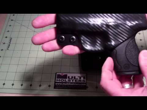 M&P Shield Custom Kydex Holsters by MUTLI HOLSTERS