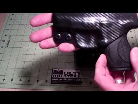 M&P Shield Custom Kydex Holsters by MUTLI HOLSTERS
