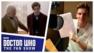 Jake Dudman Voices The Doctor | Doctor Who: The Fan Show