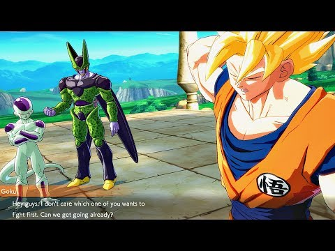 Dragon Ball FighterZ - Frieza & Cell Roasting Each Other