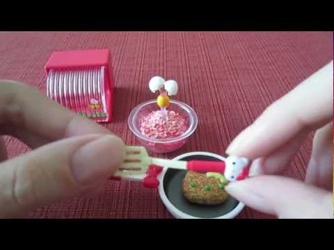 """Sanrio x Re-ment Hello Kitty """"I Love Cooking"""" Set"""