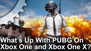 PUBG - Xbox One X vs Xbox One Early Access Frame-Rate Test!