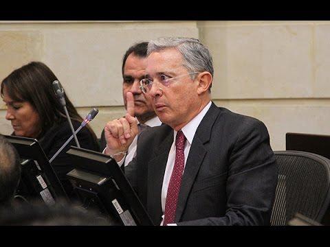 Intervención del senador Álvaro Uribe Vélez en debate sobre paramilitarismo