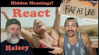 Download Lagu What Are The Hidden Meanings? Halsey - Bad At Love (REACTION) Gratis STAFABAND