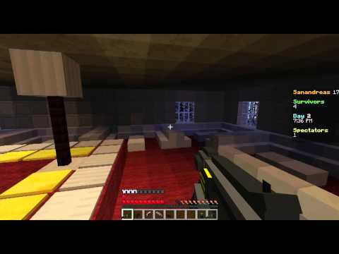 I got a Gun :D - Minecraft survival games with guns