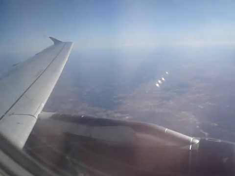 Onboard UA209 takeoff from IAD to LAX A319. Seat 7A. This was taken in January of 2009.
