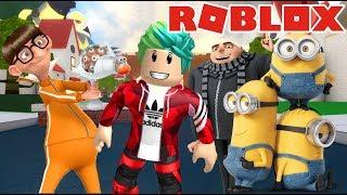 Aventuras con los Minions   Escape de los Minions   Juegos Roblox Karim Juega