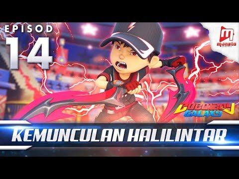 BoBoiBoy Galaxy EP14 | Kemunculan Halilintar - (ENG Subtitle)