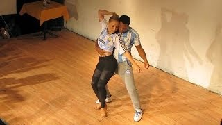 Comadreja Bachata Congress 2014 ~ Workshops ~ Ronald y Alba