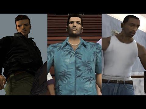 Главные герои GTA (Часть 1)