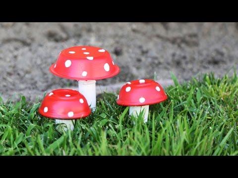 Mushroom Decor ♥ DIY