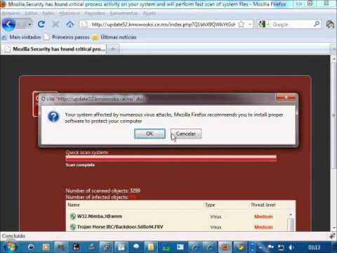 Virus Phishing Security Chrome / Firefox / Internet Explorer