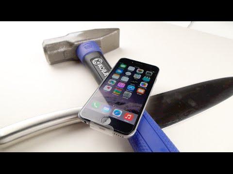 iPhone 6 Hammer & Knife Scratch Test