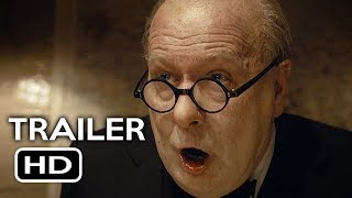 Darkest Hour Official Trailer #1 (2017) Gary Oldman, Lily James Biography Movie HD