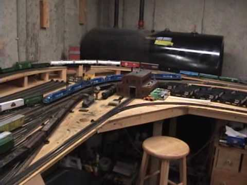 Conrail SD60M's & SD60I's on my layout